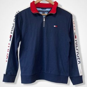 NEW Boy's Tommy Hilfiger Pullover Sweater 12-14